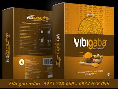 hình ảnh gạo mầm vibigaba nghệ