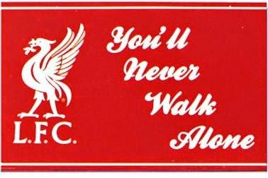 kata tersebut pastinya sudah biasa kita dengar sebagai The Kop Berita Bola YNWA (You'll Never Walk Alone) Liverpool FC