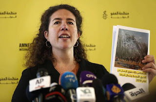 """""""Virtually all human rights defenders in Saudi Arabia are now behind bars or have been forced to flee the country,"""" Amnesty said."""