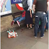 Chaos as Man is Publicly Stabbed in His Buttocks at a Tube Station (Photo)
