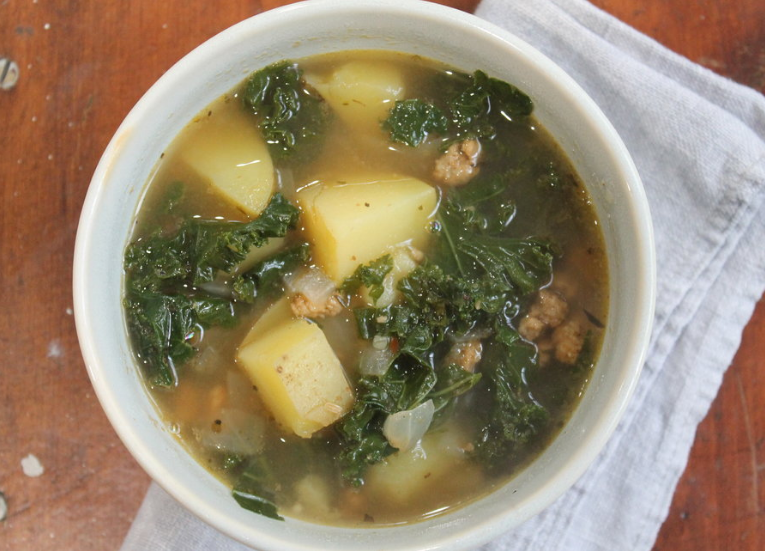 Zuppa Toscana Hearty Italian Soup #vegetable #toscana