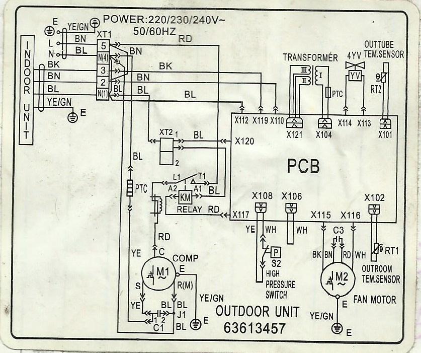 Wonderful mitsubishi split system wiring diagram ideas wiring wiring diagram ac unit cheapraybanclubmaster Gallery