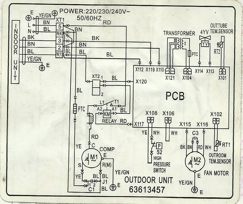 13+diag carrier window type aircon wiring diagram,Carrier Unit Wiring