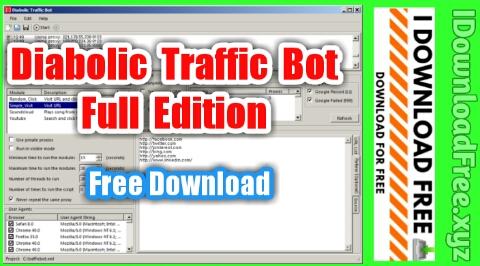 Diabolic Traffic Bot Full Edition | Free Download | I Download Free
