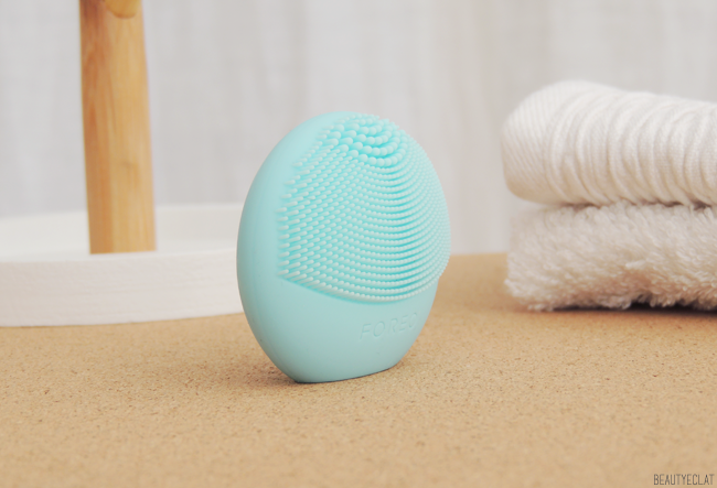 revue avis test foreo luna play mint brosse silicone