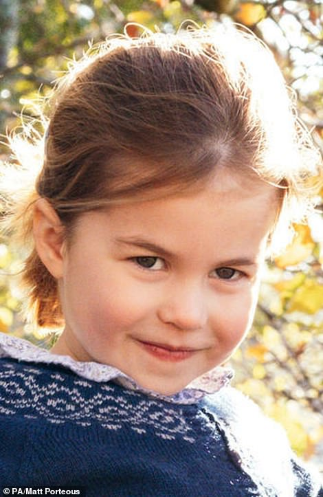 Princess Charlotte is almost 3 1/2 years old