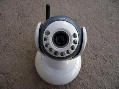 Video babá eletrônica - Camera