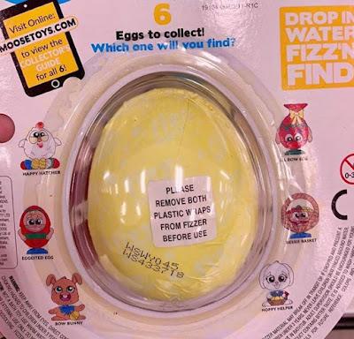 Пасхальные яйца игрушки Fizz N Surprise Easter