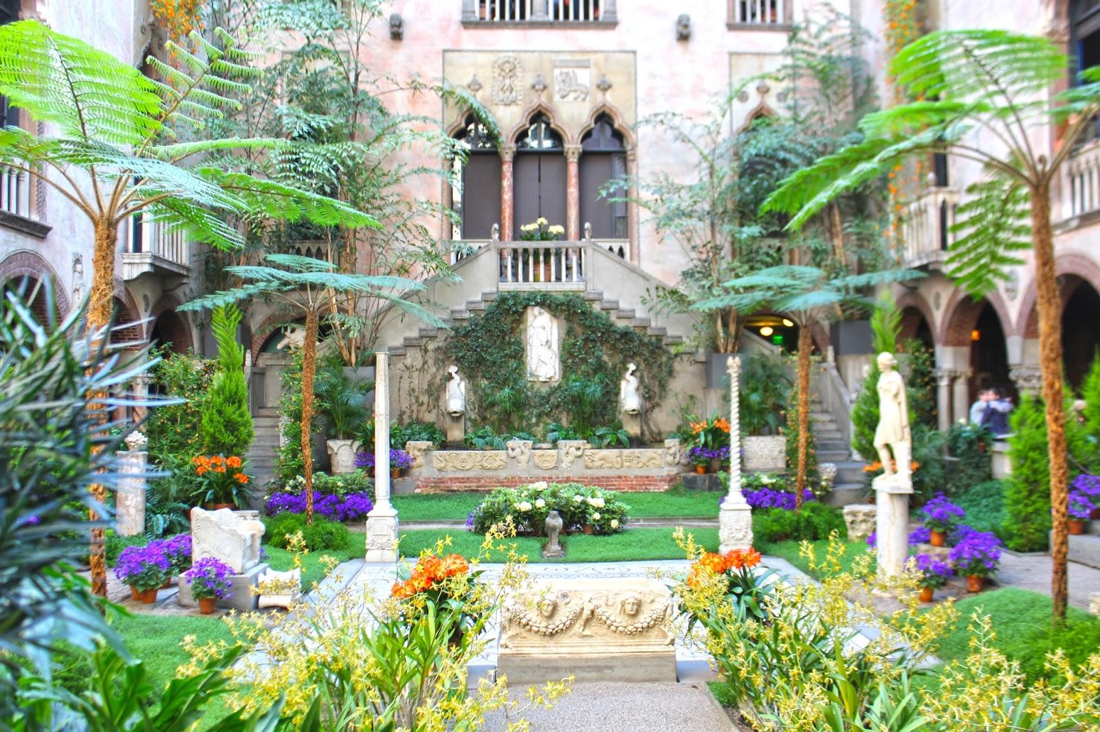 isabella steward gardner courtyard
