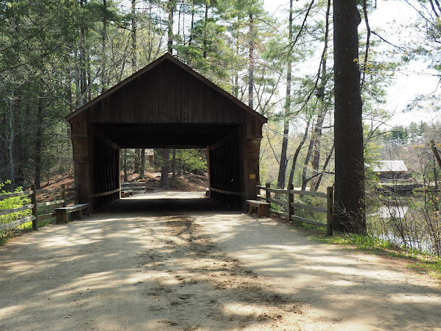 Old Sturbridge Village--covered bridge