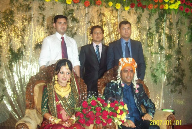Rare Wedding Pictures of Indian skipper MS Dhoni | Masti Time