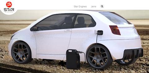圖說: Star Engines 的行動汽車充電器,圖片來源: 網頁截圖