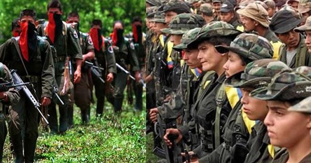 FARC e ELN: tiroteios e mortes entre esquerdistas