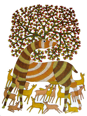 Tribal Art Gond Painting