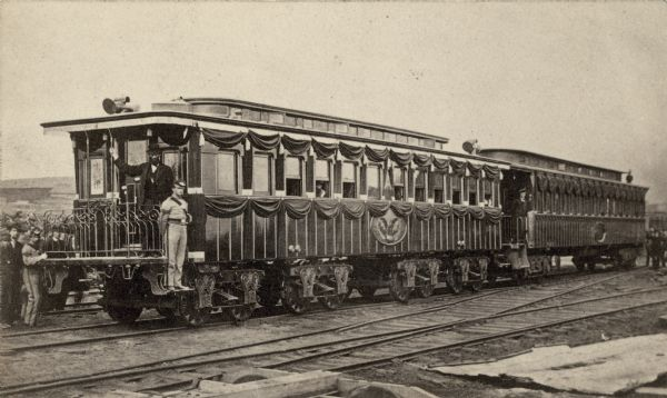 Lincoln S Funeral Train Car