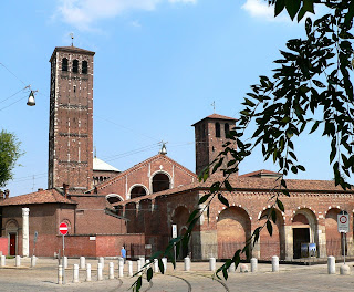 A service is held in the Basilica di Sant'Ambrogio to mark the saint's day on December 7.
