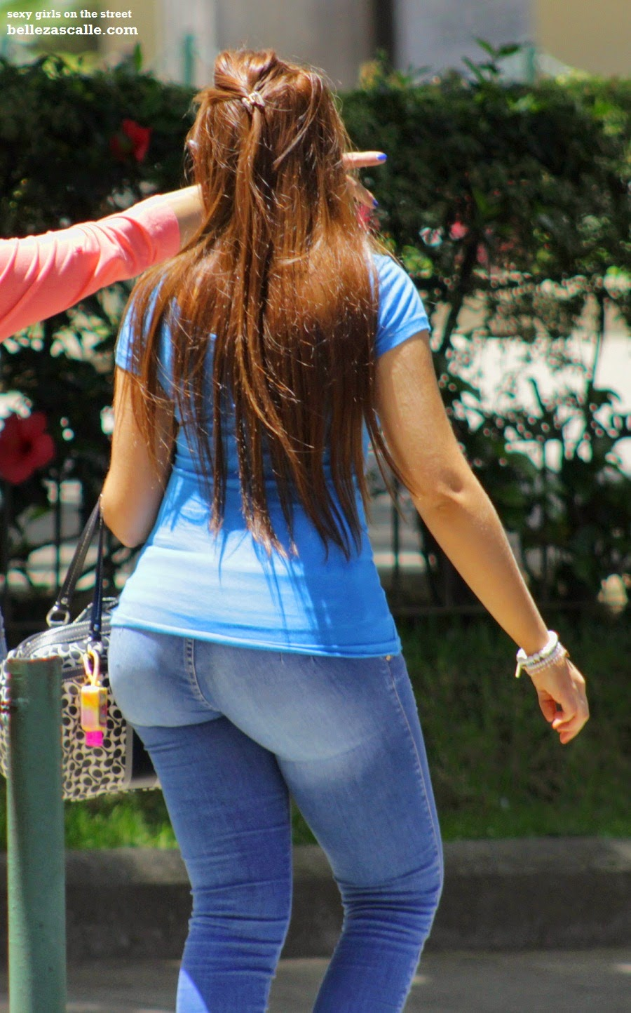 Sexy Girls On The Street, Girls In Jeans, Spandex And -8207