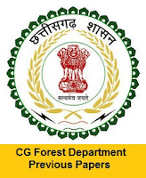 CG Forest Department Previous Papers