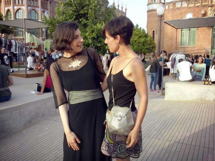080 Barcelona Fashion Week con Natalie Capell