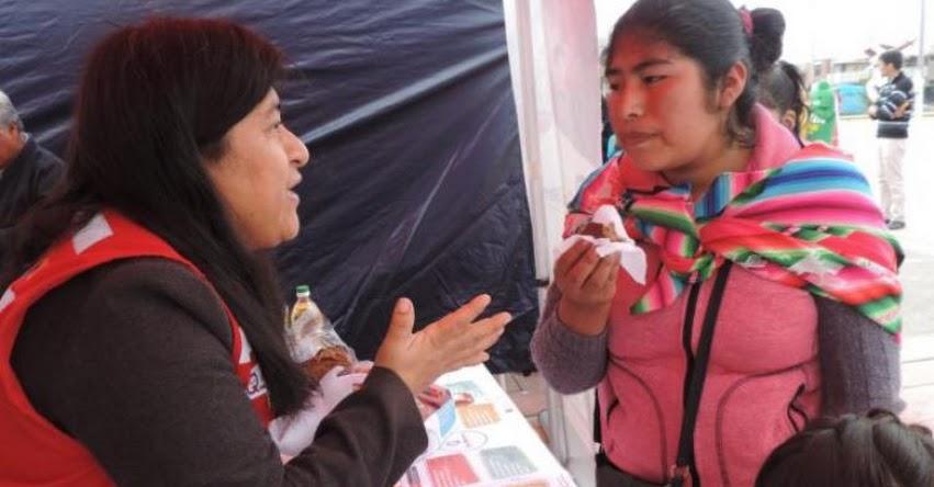 QALI WARMA: Programa social informa sobre beneficios del consumo de pan fortificado con sangrecita en Ilo - www.qaliwarma.gob.pe