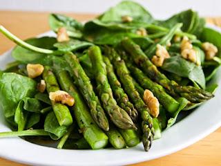 Asparagus with Walnuts (Cevizli Kuskonmaz)