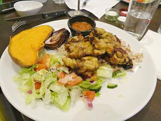 Manchester Trafford Centre restaurant, Tandoori chicken in Trafford centre, Saffran Tandoori Chicken