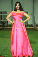 Actress Pujita Ponnada in beautiful red dress at Darshakudu music launch ~ Celebrities Galleries 022.JPG