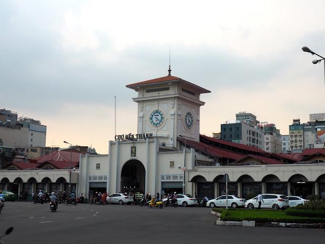 Ben Trahn Market in Ho Chi Minh City, Vietnam