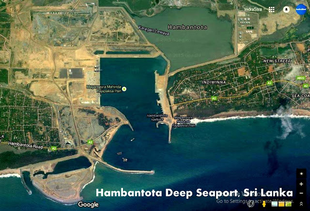 Hambantota Deep Seaport, Sri Lanka