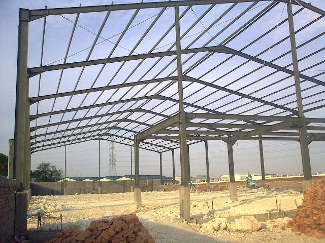 Struktur baja , Konstruksi Baja