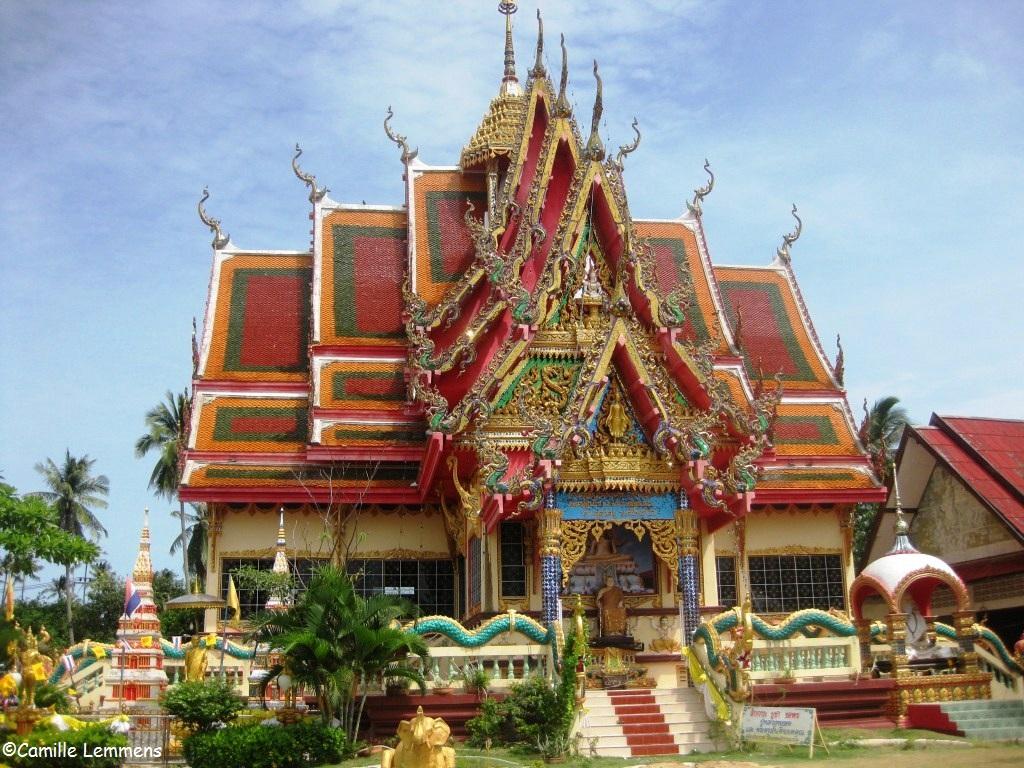 Camilles Samui Info blog: Wat Plai Laem in 2012