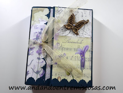 Mini álbum scrapbooking