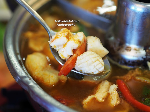 Fresh Seafood Works Best In The Tom Yam Broth