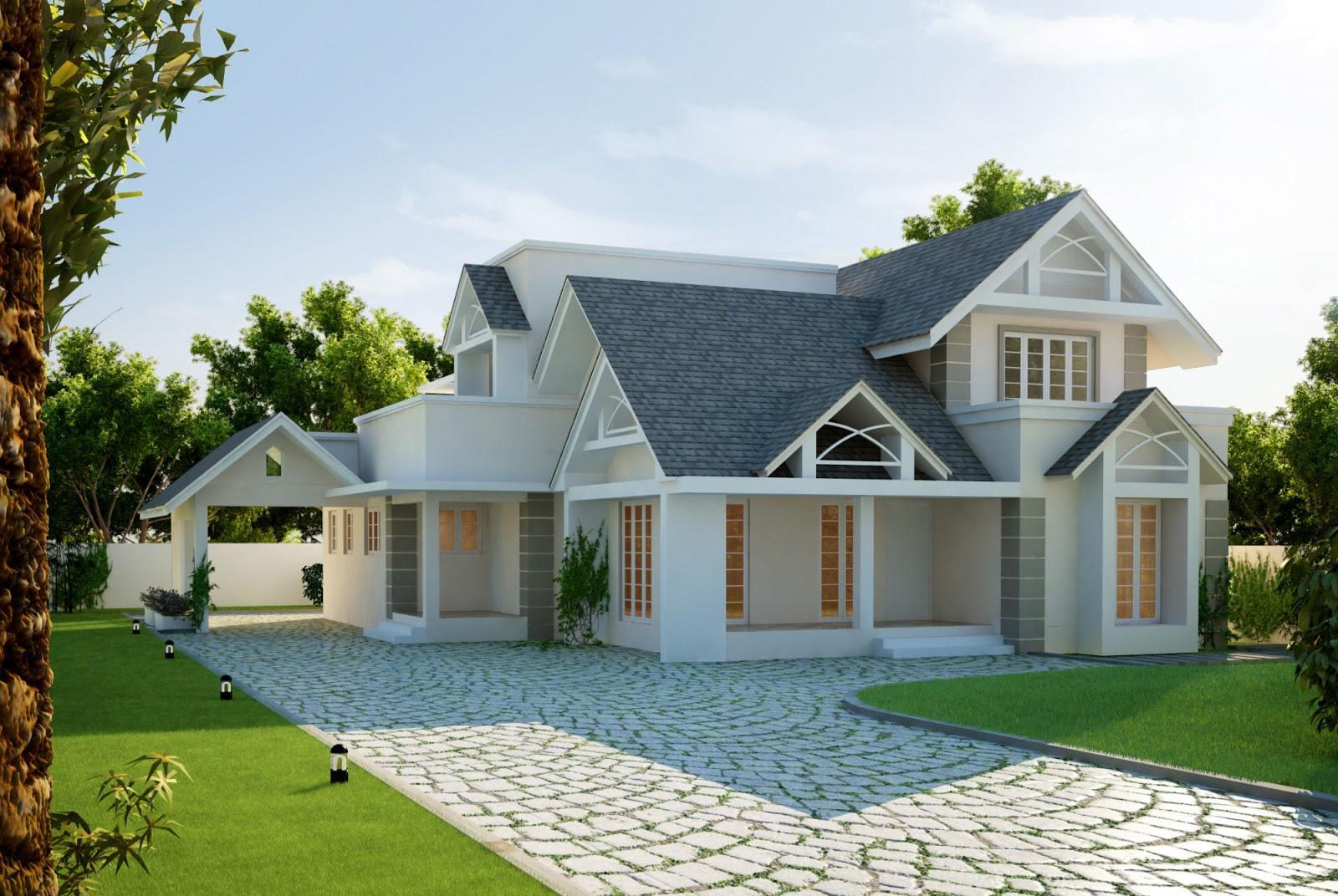 Desain Rumah Eropa Sederhana DesainRumahMinicom