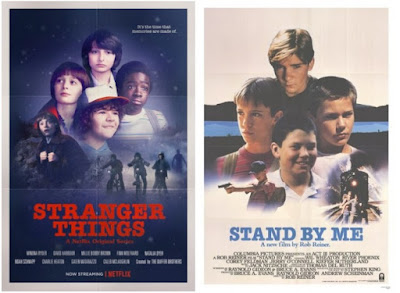 Pósters de películas Stranger Things - Stand by me