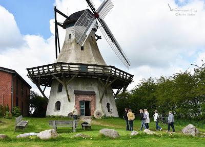 Alte Windmühle wird von den Landfrauen Hohenaspe besucht