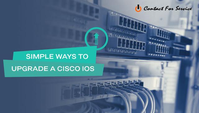 Simple ways to upgrade Cisco IOS