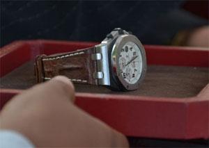 bbe6a2ea1c68 Durante la venta en pública subasta de los relojes del Capo Figueroa  Agosto