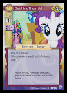 My Little Pony Outshine Them All Premiere CCG Card