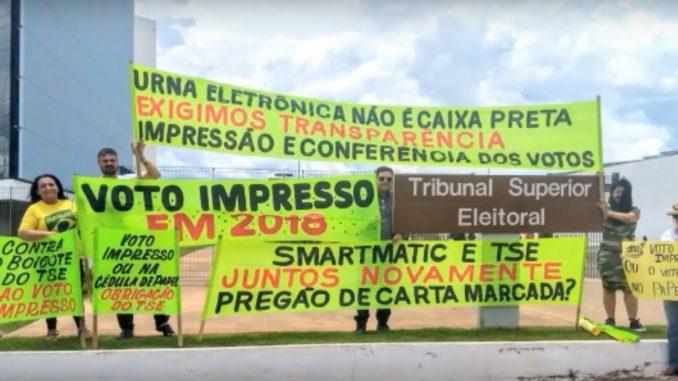 Peritos da Polícia Federal vão ao STF para defender voto impresso