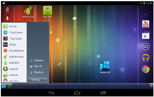 Cara Membuat Tampilan Android Seperti Windows