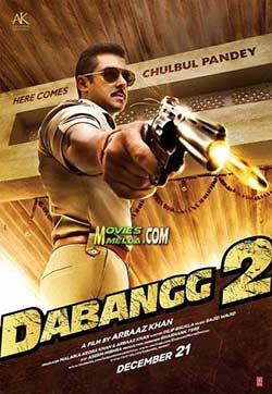 Dabangg 2 2012 Bollywood 300MB Movie Download 480P at movies500.org
