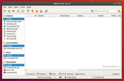 Latest stable of qBittorrent in Linux