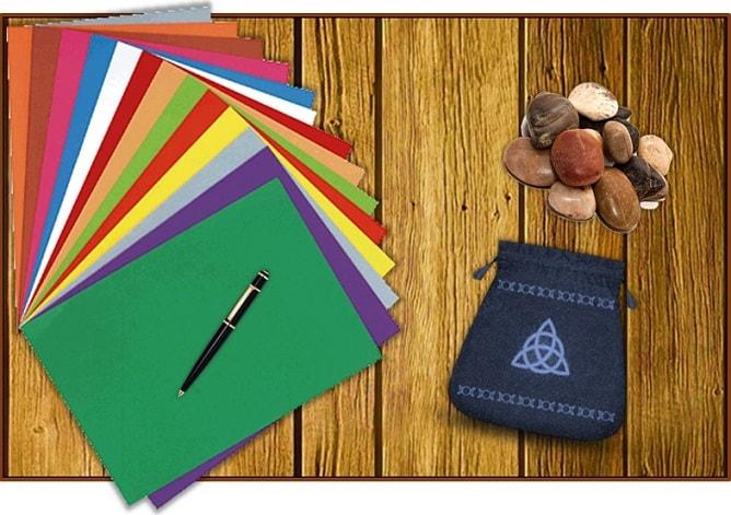 Materiales para el ritual abrecaminos facil y casero