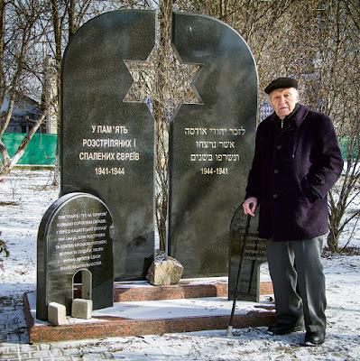 O único judeu a sobreviver ao massacre de Odessa de 1941