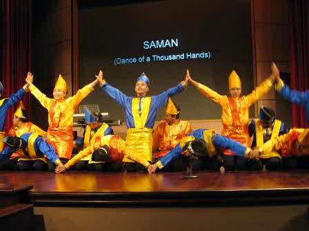"TARI SAMAN "" Dance of THousand Hand"""