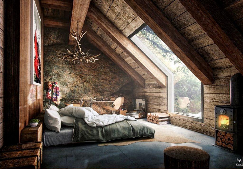 design ideen f r eine sch ne dachschr ge schlafzimmer de haus. Black Bedroom Furniture Sets. Home Design Ideas