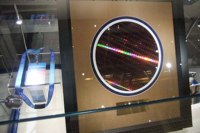 intel-silicon-wafer シリコンウェハー