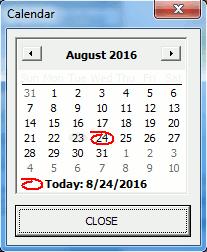 Cara Membuat Calendar Date Picker di Excel (Macro
