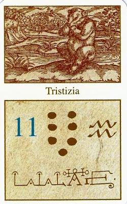 ΤΟ ΜΑΝΤΙΚΟ ΣΥΣΤΗΜΑ ΤΟΥ ΠΑΡΑΚΕΛΣΟΥ – 11η ΚΑΡΤΑ TRISTIZIA